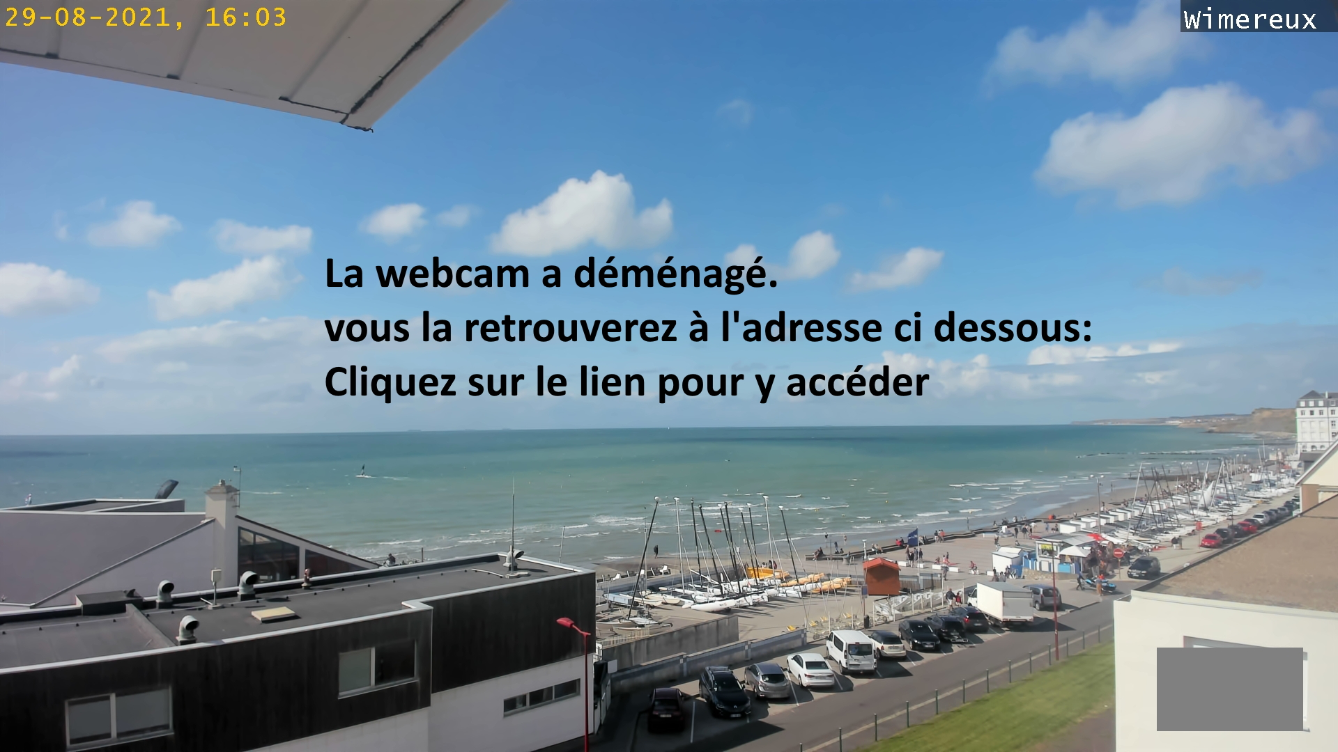 webcam Wimereux